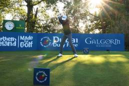 Course at Galgorm Castle was the winner